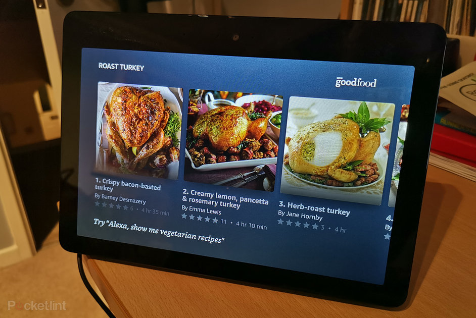 The Amazon Echo Show Now Gets You Step By Step Recipes From Bbc Good