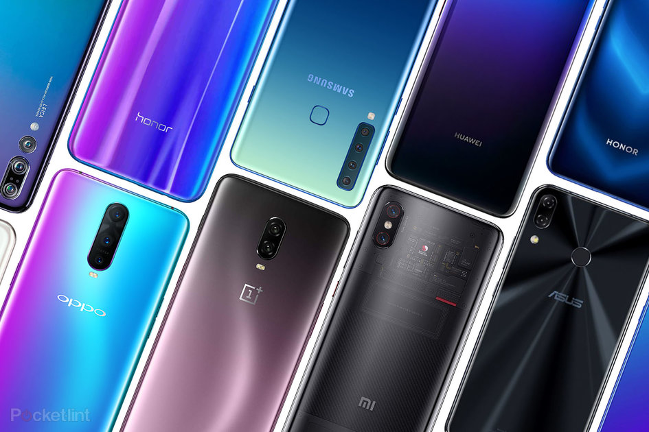 Tech's rear of the year: The beautiful phone finishes of 2018