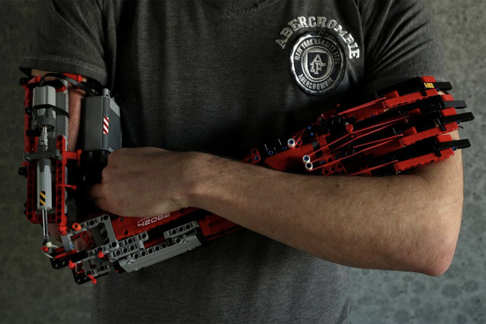 This Lego robotic arm must be the coolest prosthetic ever