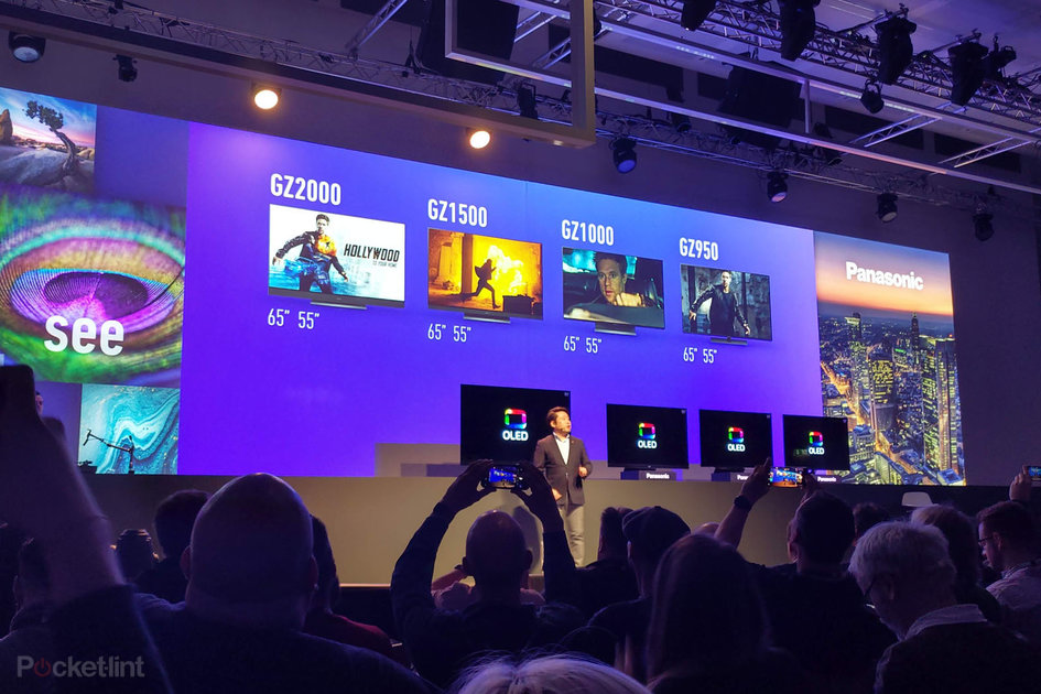 Panasonic 2019 OLED TV line-up expands to four different models all with Dolby Atoms and wide HDR support