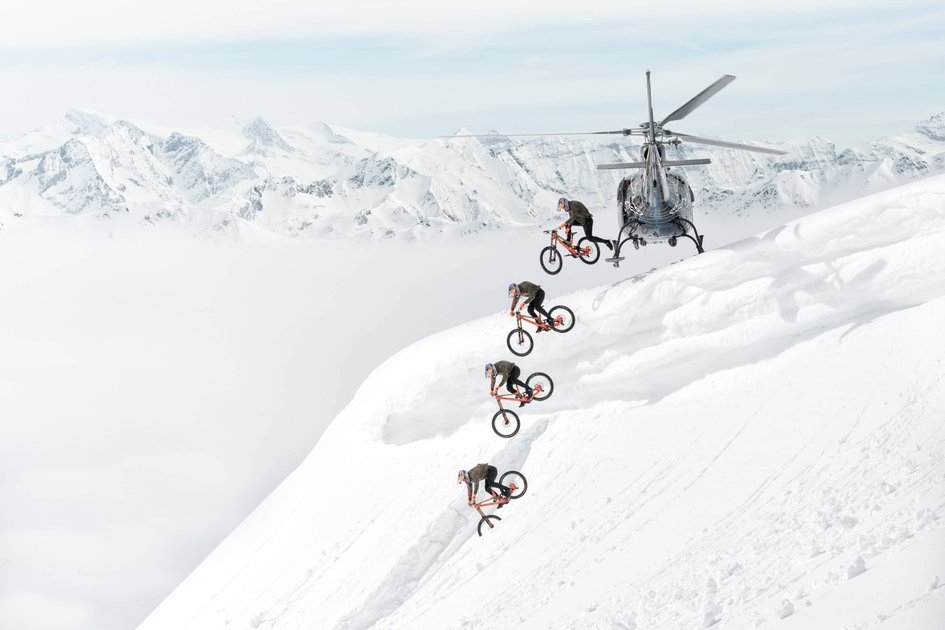 These amazing sequence photos make extreme sports look even more awesome