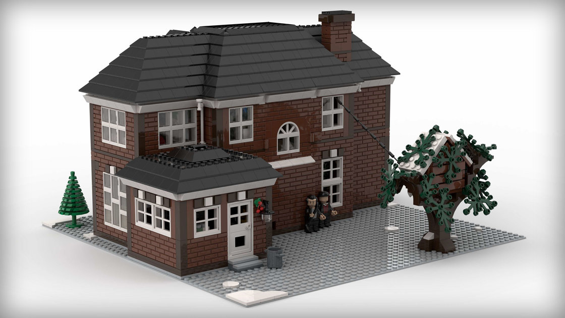 Lego Home Alone House Gets Thumbs Up From Macaulay Culkin