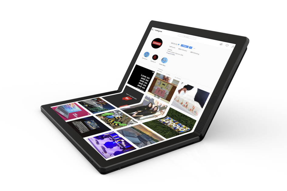Best Lenovo Laptop 2020 Lenovo reveals the world's first foldable PC coming in 2020