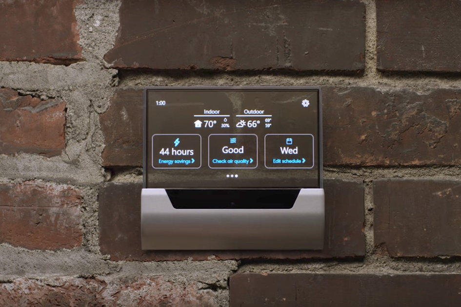 The Glas Smart Thermostat Just Totally Ditched Cortana