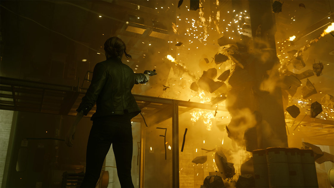 Control review: Gloriously bonkers paranormal action