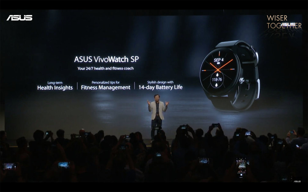 Asus VivoWatch SP will track your exercise and your vitals