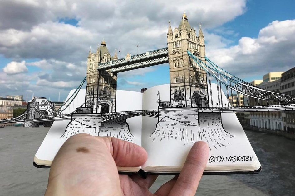This artist modifications your perspective of the world with unimaginable sketches