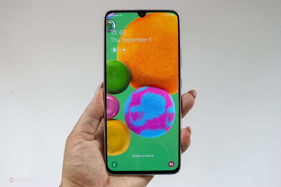 Samsung Galaxy A90 5G initial review