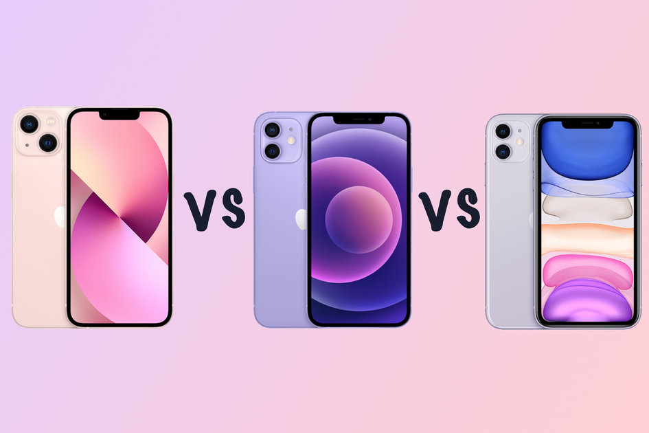 Apple iPhone 13 vs 12 vs iPhone 11 vs iPhone XR comparability