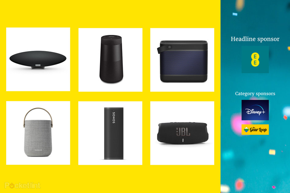 Here are the EE Pocket-lint Awards nominees for Best Speaker 2021 and how to vote