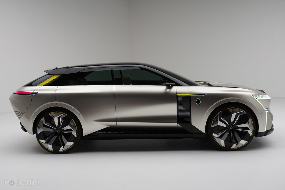 Renault Morphoz Concept Car Physically Extends Here S Why