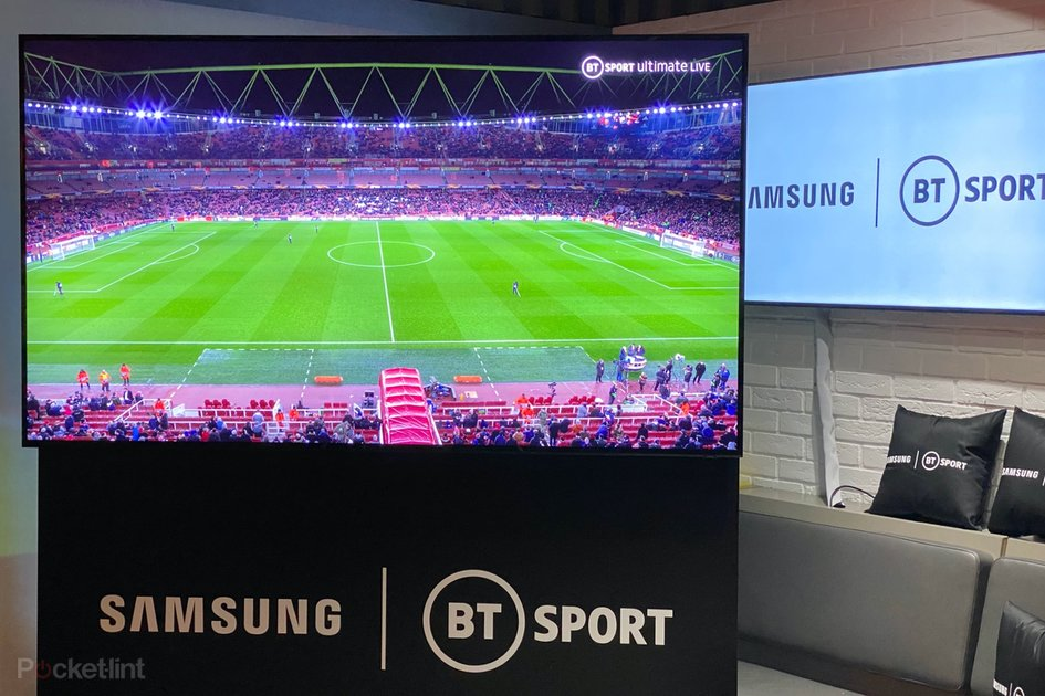 BT Sport and Samsung just showed a game of football in 8K