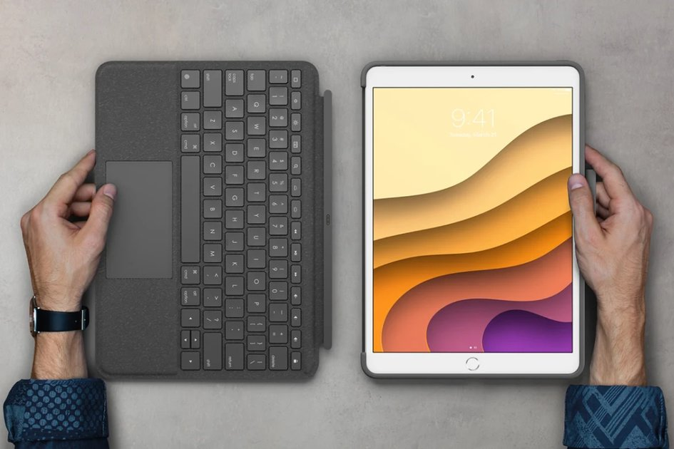 Logitech's new Combo Touch iPad case brings a trackpad