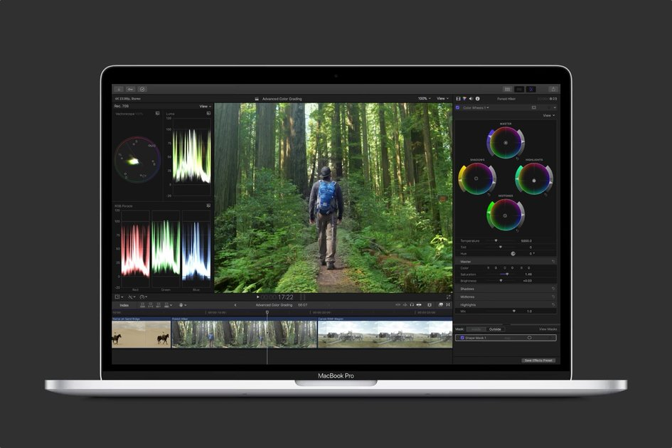 Apple makes pro video and audio editing software free