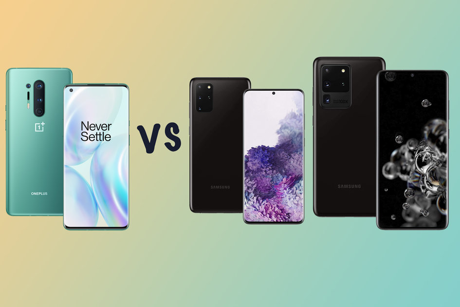 OnePlus 8 Professional vs Samsung Galaxy S20+ vs Galaxy S20 Extremely: What'