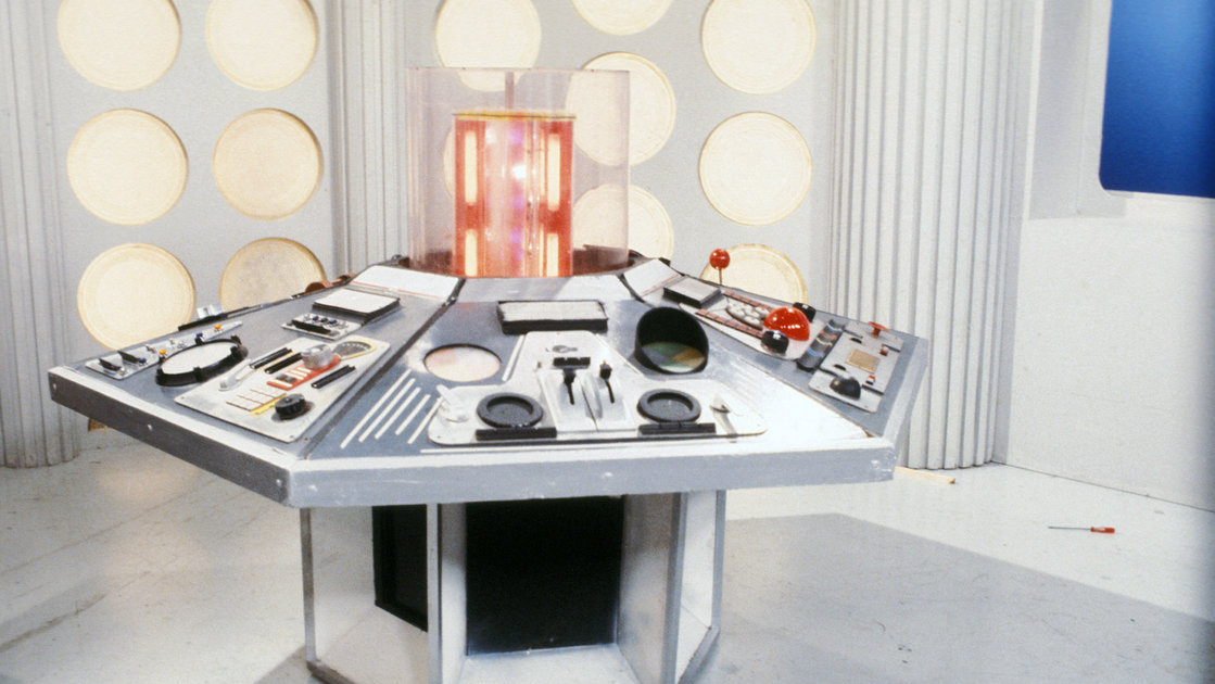 Classic BBC sets available as Zoom and Teams backgrounds, including the TARDIS