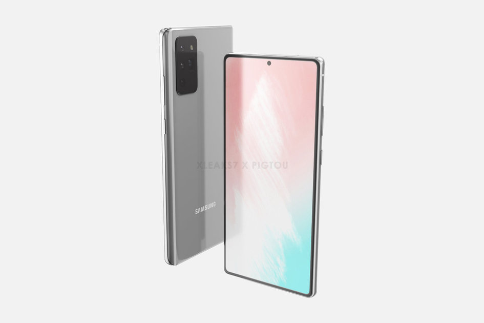 Galaxy Note 20 renders give us a first look at the next premium Samsung flagship