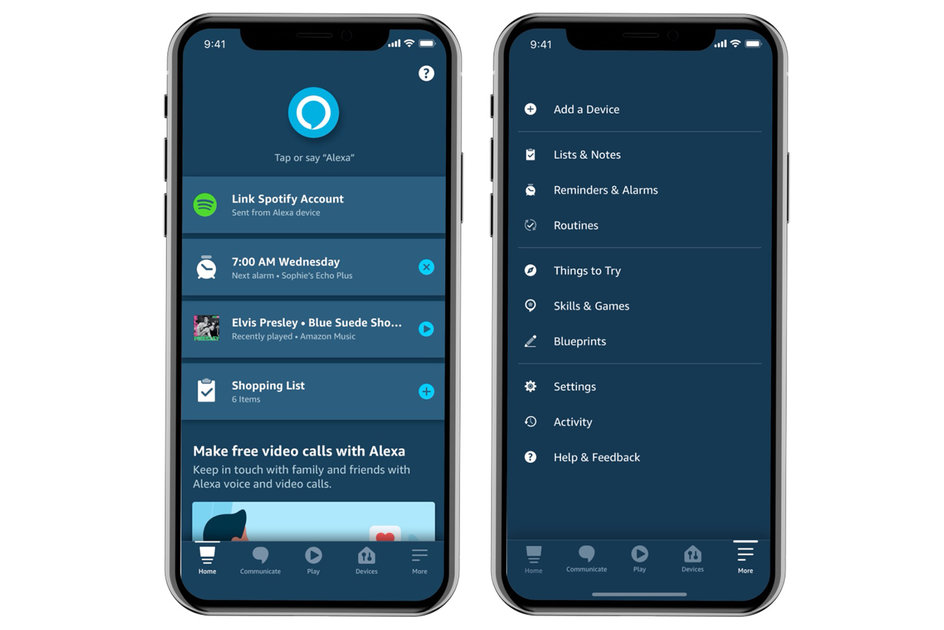 New Alexa app update: Amazon tailors the home screen to you