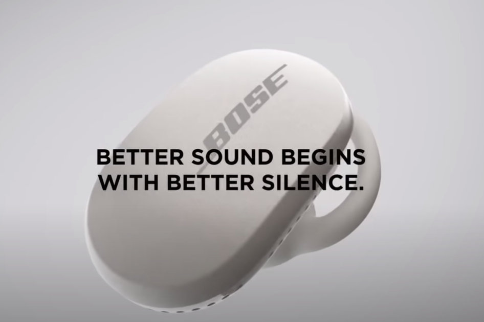 Leaked Bose QuietComfort Earbuds promotional video details advanced noise cancelling, ergonomic design