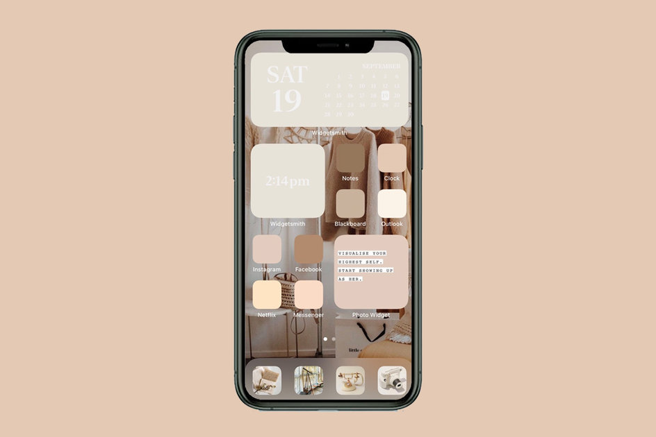 How To Customize Your Iphone Home Screen Aesthetic