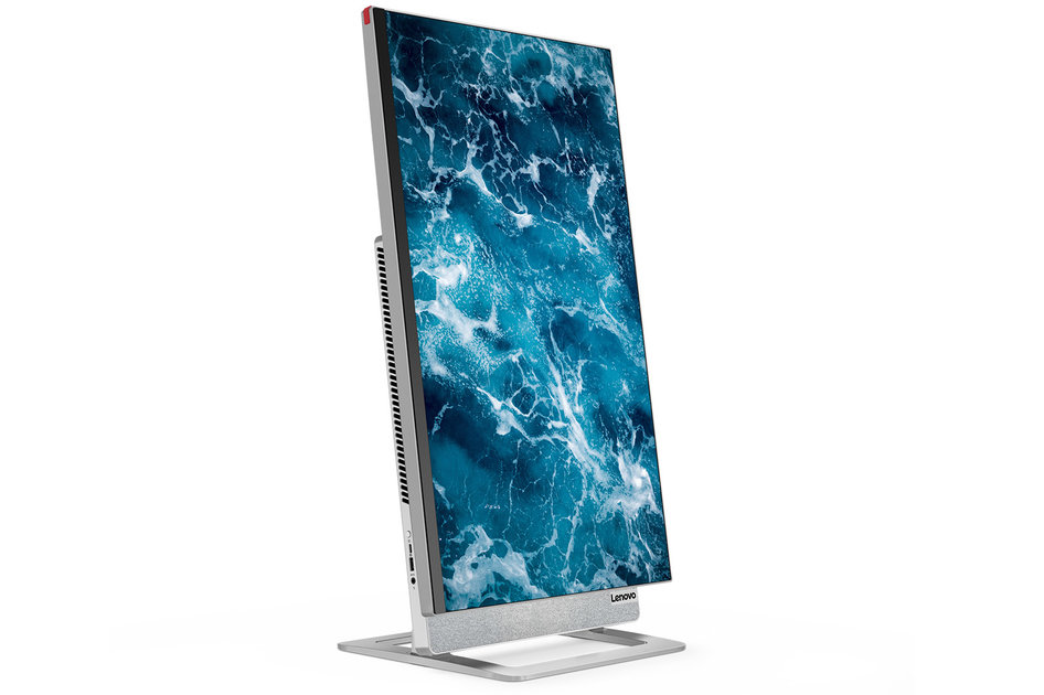 Lenovo's Yoga AIO 7 all-in-one has a rotating 27-inch display