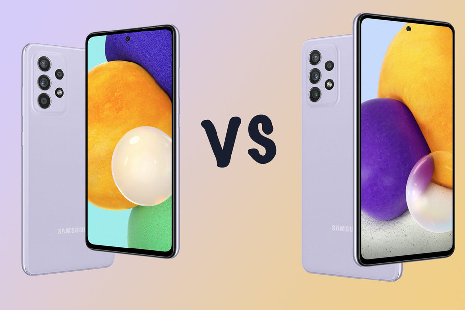 Samsung Galaxy A52s vs A52 5G vs A72: What's the difference?