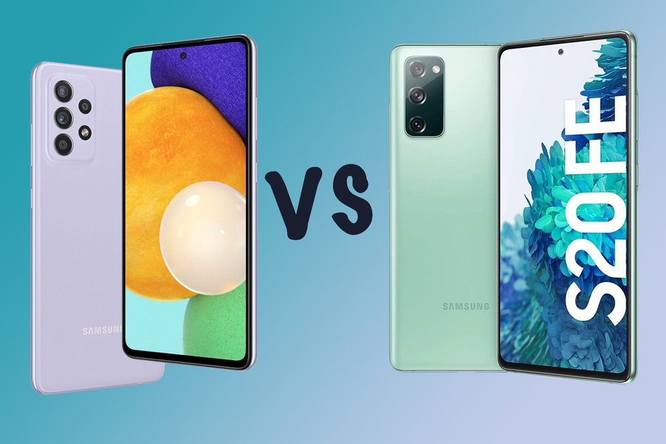 Samsung Galaxy A52s vs A52 5G vs Galaxy S20 FE: What's the difference?