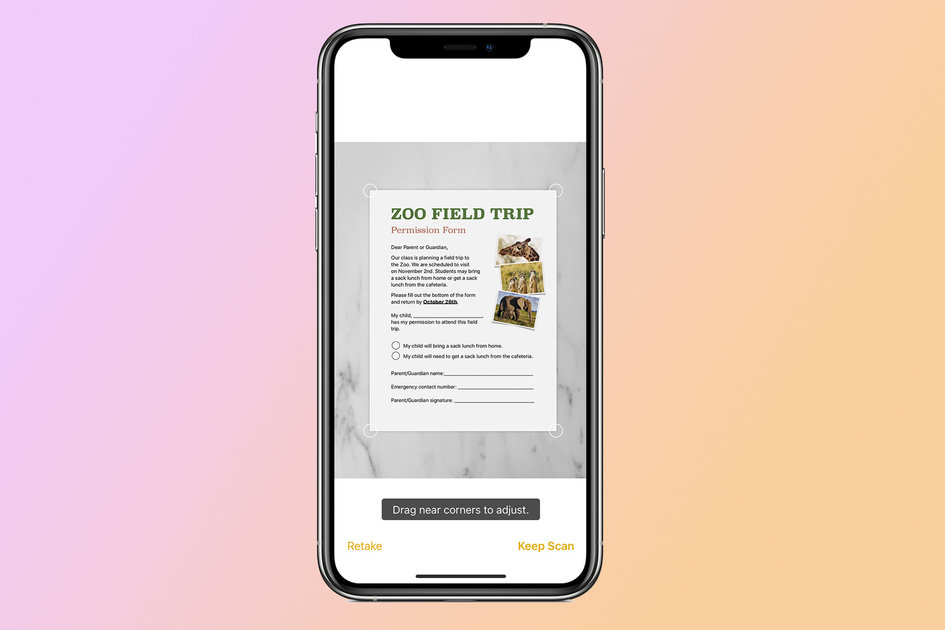 The right way to scan and signal a doc utilizing your iPhone or iPad