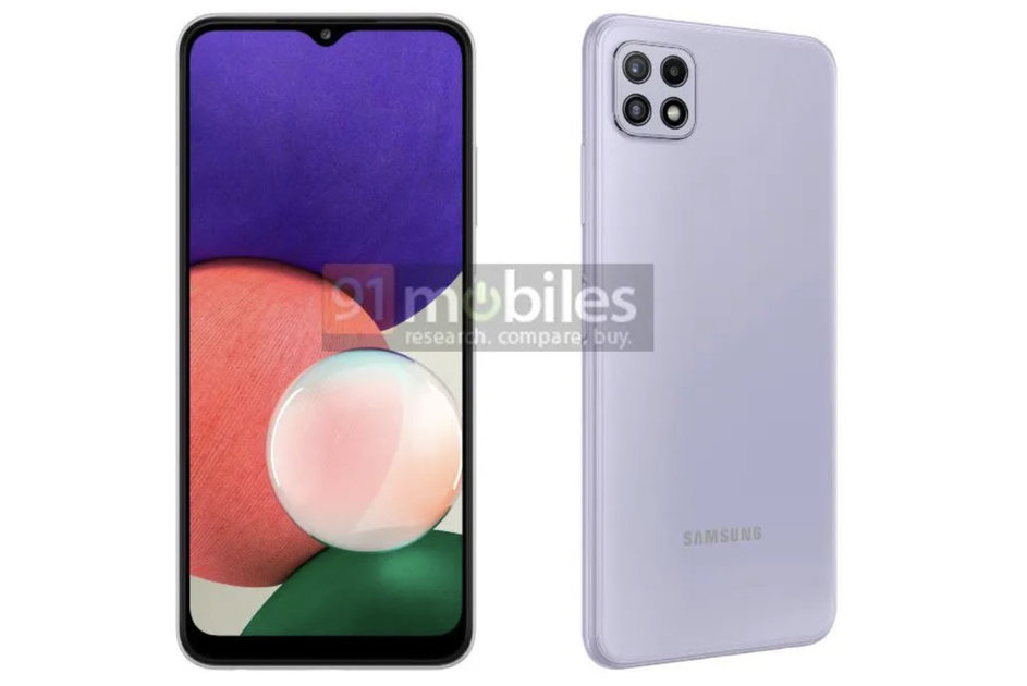 Samsung Galaxy A22 5G leaks out: Most cost-effective 5G telephone but?