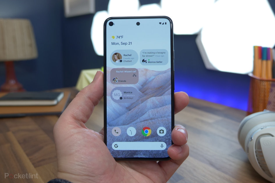 Android 12 leaked, options design/safety overhaul