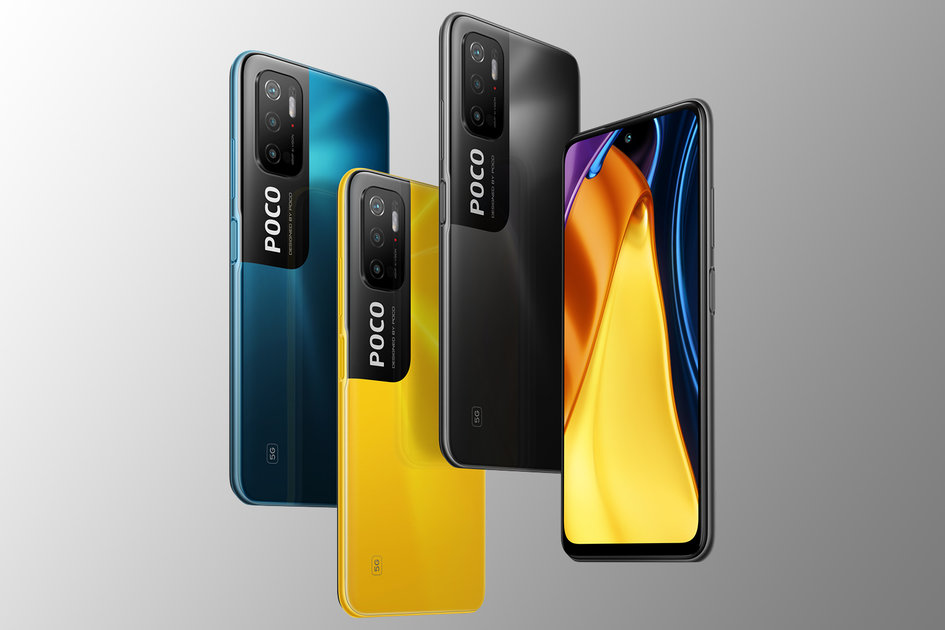 Poco M3 Professional 5G official, with twin SIM and 90Hz show