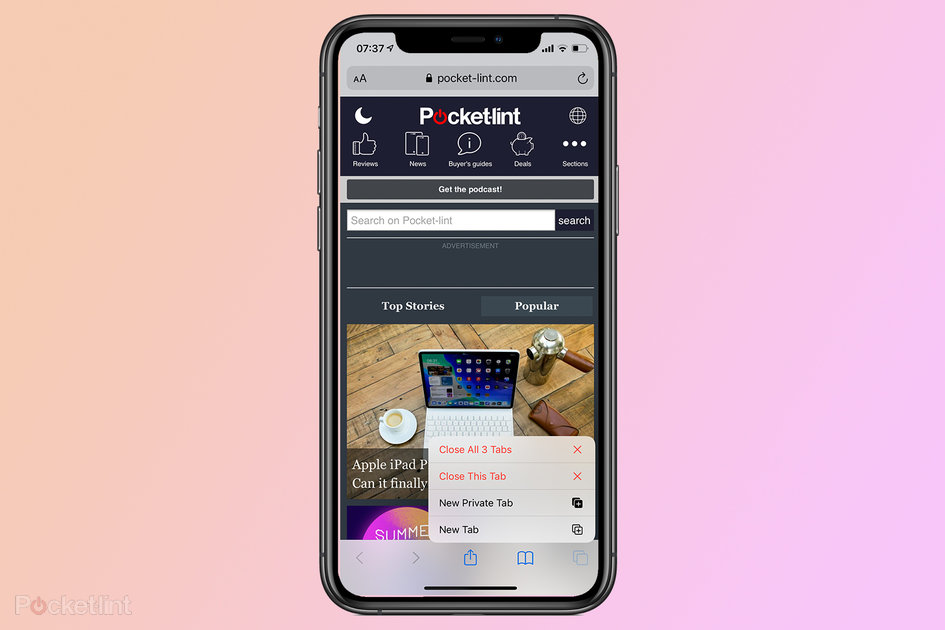 How one can shut all Safari tabs on iPhone directly