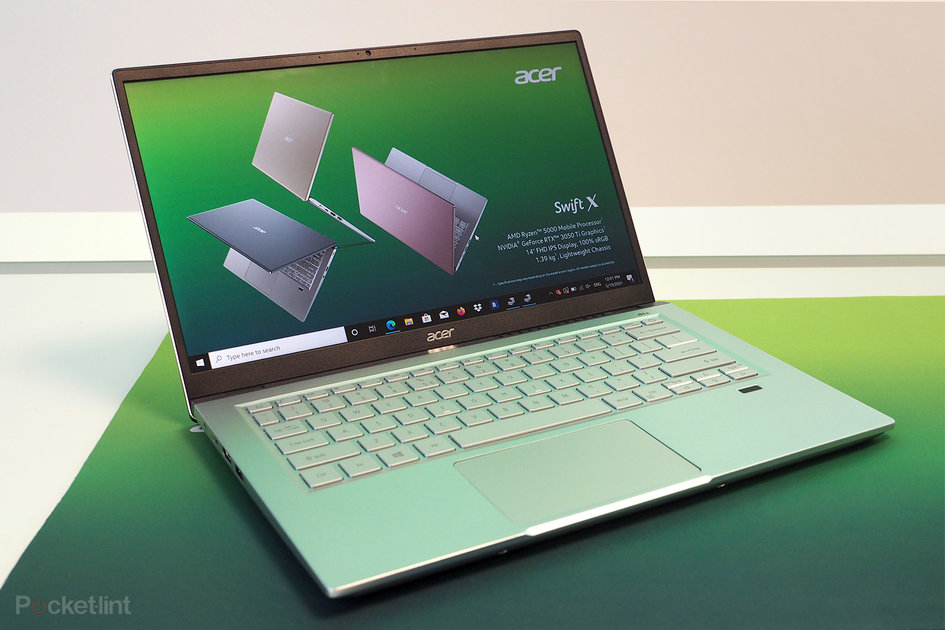 Acer Swift X has RTX 3050 GPU for under four-figure price