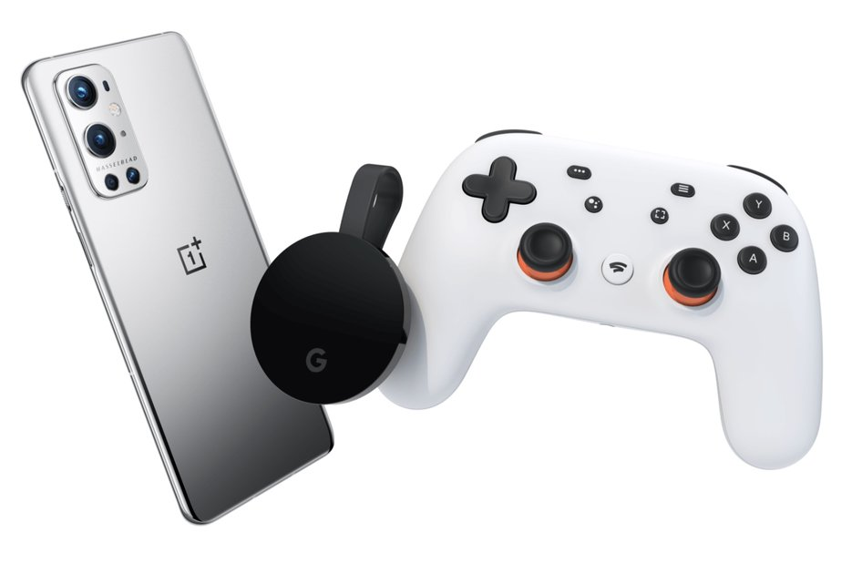 OnePlus providing free Google Stadia bundle with cellphone purchases