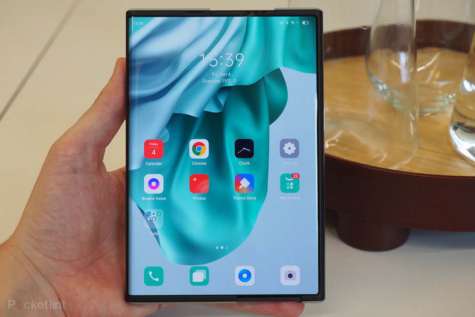 Oppo X 2021 rollable idea cellphone overview: Excessive curler