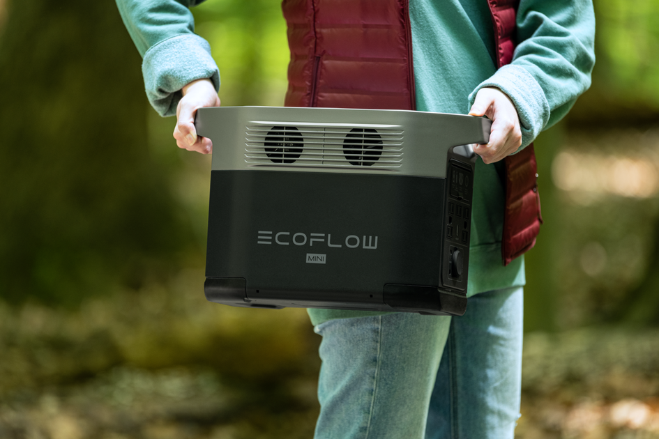 What makes the EcoFlow DELTA mini the perfect backup energy for travelling