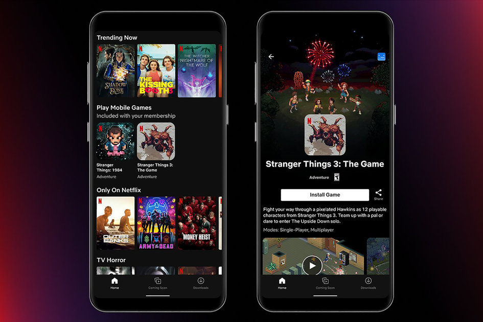 Netflix gaming launches in Poland with two Android video games