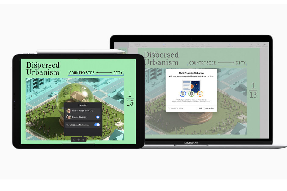 Apple updates iWork suite with a slew of new features, heavier emphasis on remote work