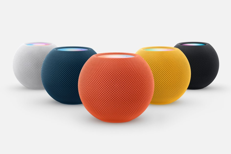 Apple HomePod mini receives colour makeover - three new finishes available this fall