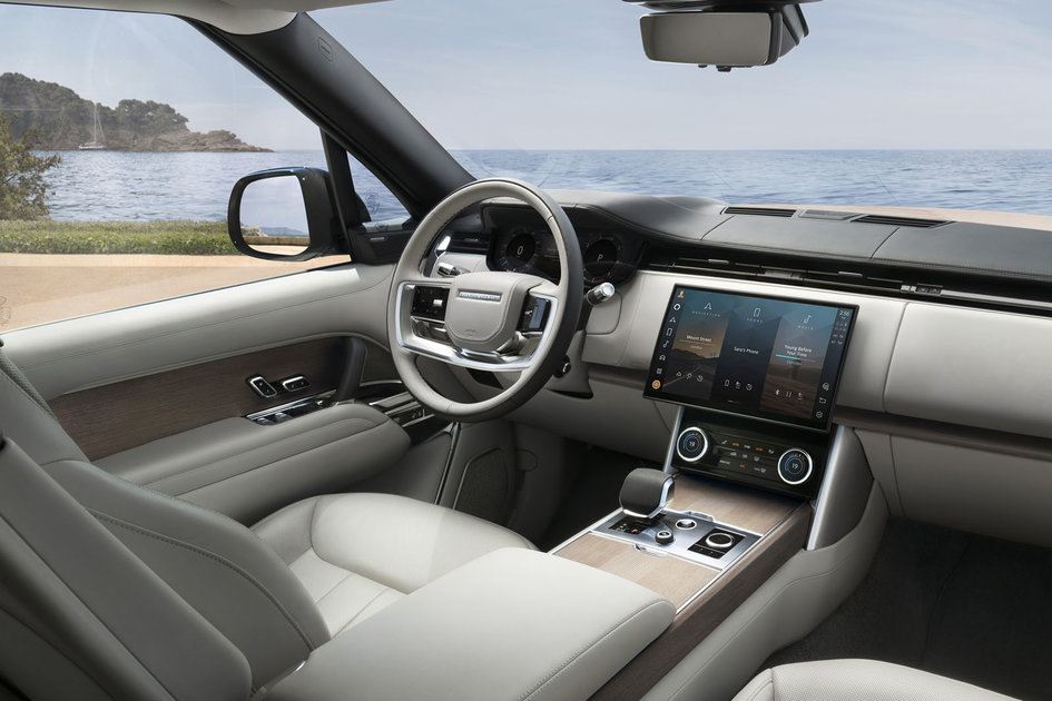 The new Range Rover is basically the largest Alexa device so far