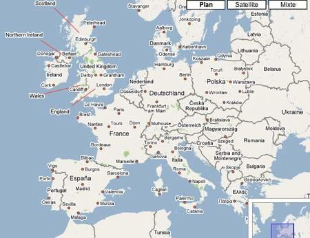 Google Spain Map.Google Maps Deutschland Ecosia
