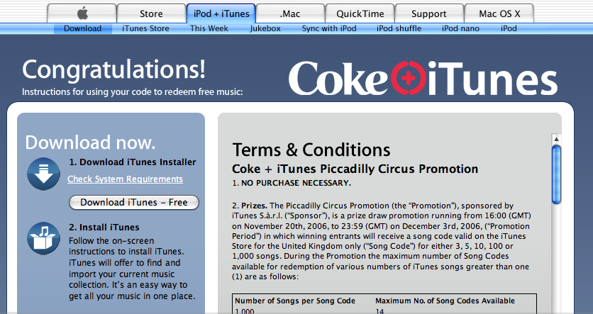 Apple team up with Coke to give away free iTunes tracks - Pocket-lint