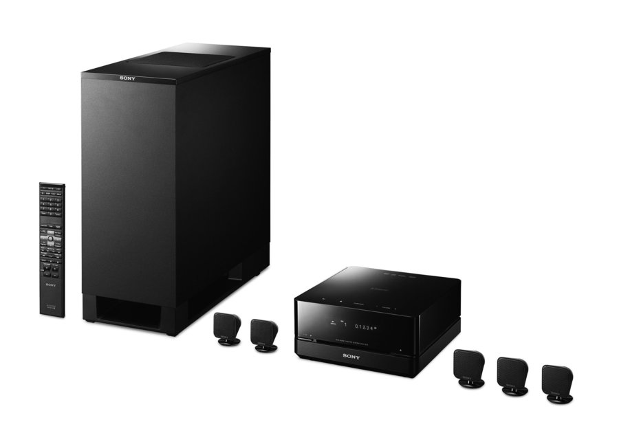 sony introduces tiny micro surround sound system pocket lint. Black Bedroom Furniture Sets. Home Design Ideas