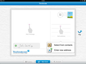 APP OF THE DAY: Touchnote Postcards for iPad review - photo 6