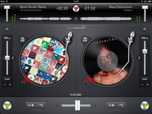 APP OF THE DAY: djay review (iPad / iPhone / iPod touch) - photo 1