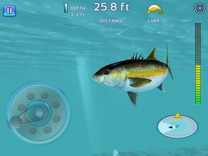 APP OF THE DAY: Fishing Kings Free+ review (iPad and iPhone) - photo 4