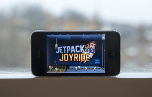 APP OF THE DAY: Jetpack Joyride review (iPhone) - photo 1