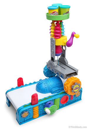 Play-Doh 3D Printer: ThinkGeek's best April Fools yet? - photo 3