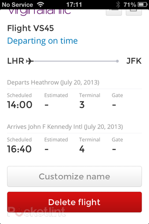 App of the day: Flight Finder review (iPhone) - photo 8