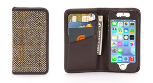 How posh: Griffin offers genuine Harris Tweed Wallet and Harris Tweed Case for iPhone 5/5S - photo 5